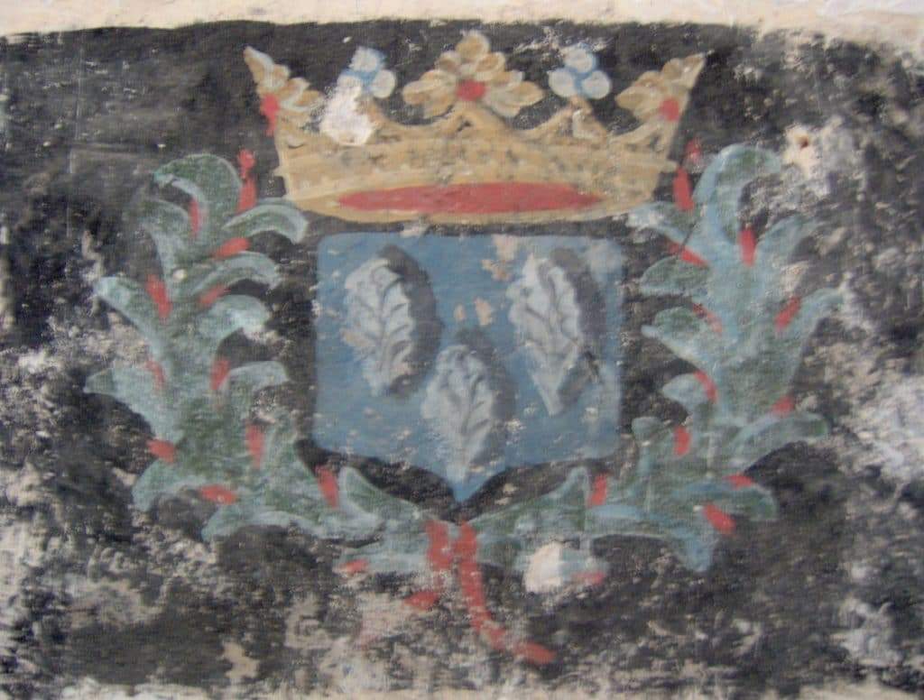 Blason de l'église de Bézu-Saint-Germain