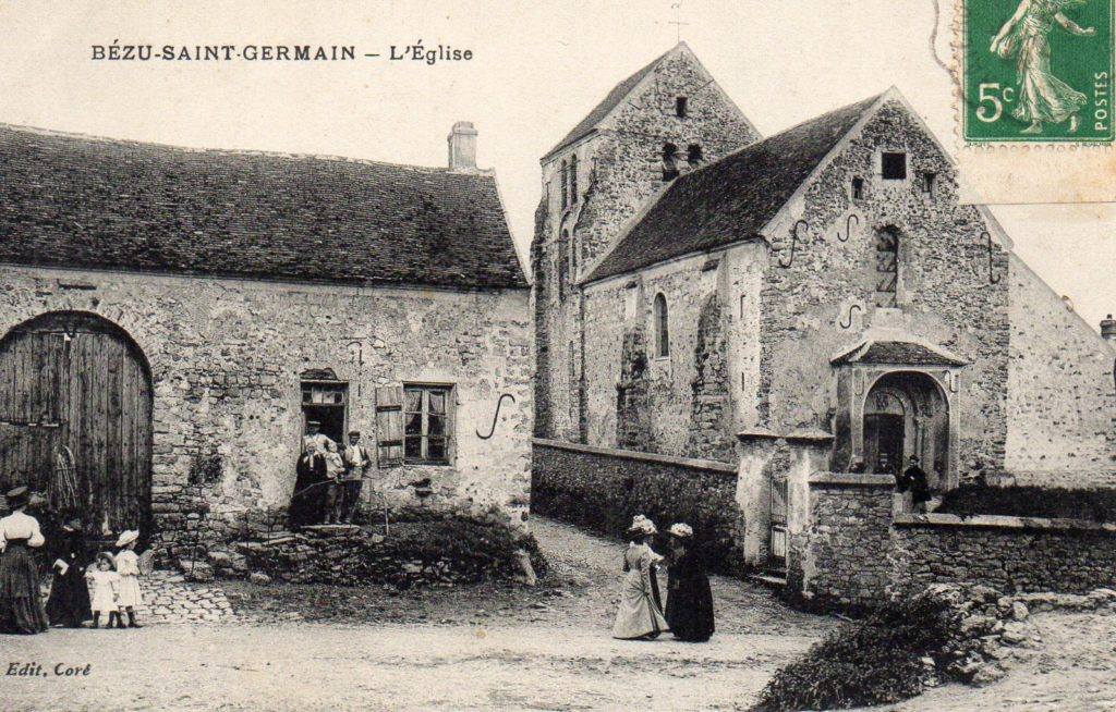 Carte postal ancienne de Bézu Saint-Germain