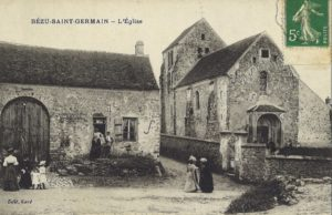carte postale Bézu Saint Germain (l'Eglise)