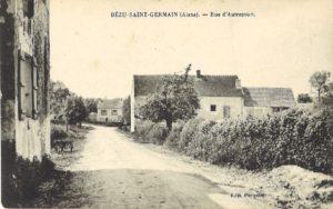 carte postale Bézu Saint Germain (Rue de l'Autrecourt 2)